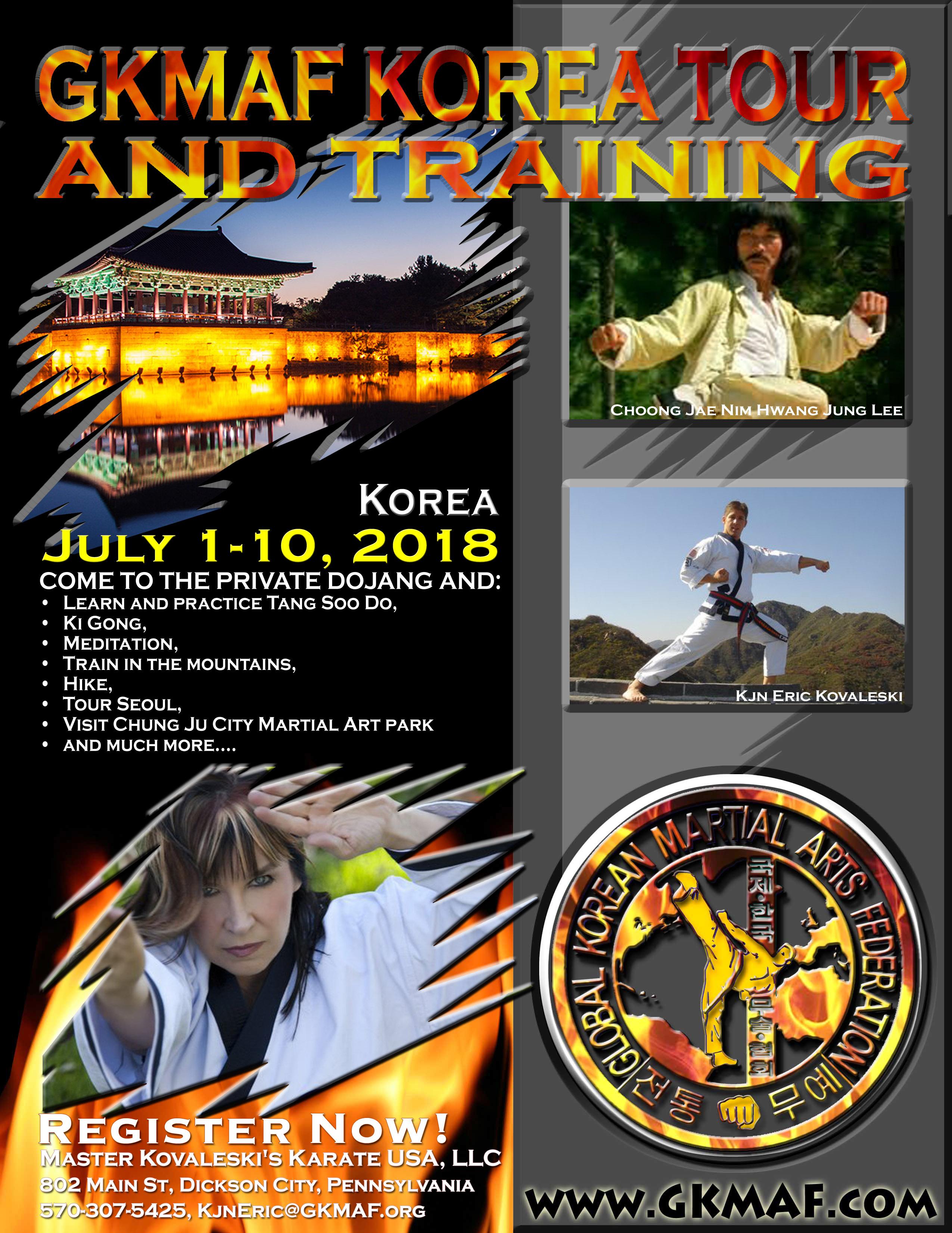 Flyer Korea Eric 2018